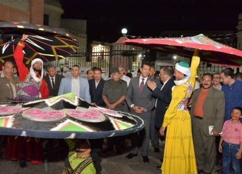 محافظ أسيوط يشهد احتفالات مديرية الثقافة بذكرى انتصارات أكتوبر