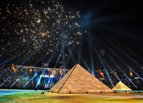 """قنوات الإخوان تسطو على حفل افتتاح """"أمم أفريقيا"""" وخبراء: على """"الكاف"""" اتخاذ الإجراءات القانونية ضدها"""