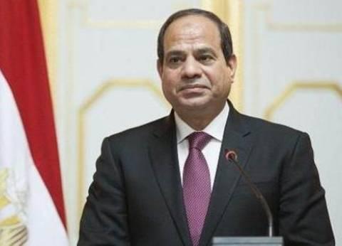 """السيسي يغادر """"مصر الجديدة النموذجية"""" بعد الإدلاء بصوته"""