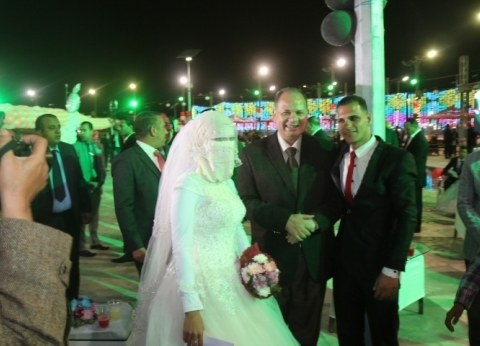"""محافظ الفيوم يشارك في حفل """"مستقبل وطن"""" لتسليم 50 جهاز عروسة لليتيمات"""