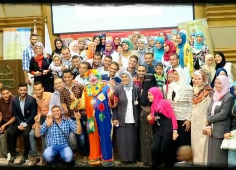 اتحاد طلاب تمريض بنها يحتفل بنصر أكتوبر في 57357