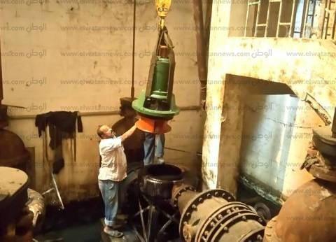 """رئيس مياه الشرب والصرف الصحي بـ""""مدن القناة"""" يتفقد محطة القنطرة غرب"""