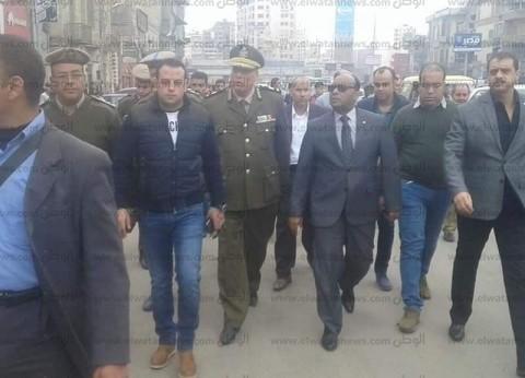 مدير أمن الغربية يتفقد الخدمات والأقوال الأمنية بأقسام الشرطة بالمحلة