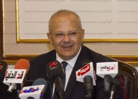 """""""الخشت"""": أساتذة جامعة القاهرة نشروا 4 آلاف و38 بحثا في المجلات العلمية"""