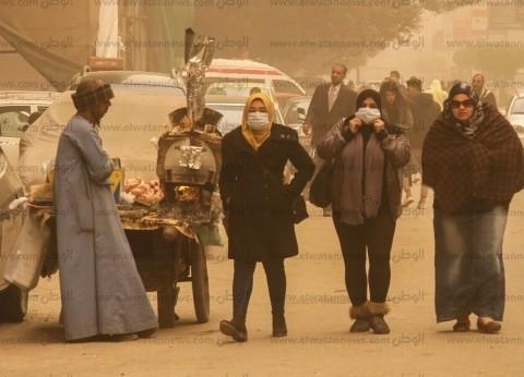 بالصور| ثلوج على السواحل الشمالية فى ذروة «الفيضة الكبرى».. وعاصفة ترابية تضرب القاهرة الكبرى