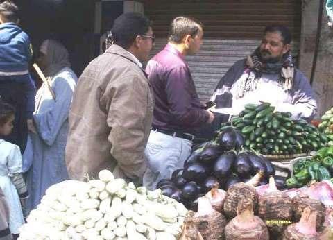 حملة لضبط أسواق المواد الغذائية في البلينا بسوهاج