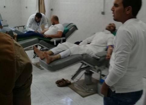 إصابة ضابط شرطة و6 متهمين في حادث انقلاب سيارة ترحيلات