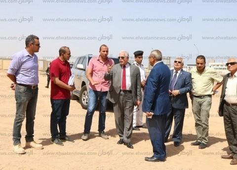 خالد فودة يتابع أعمال إنشاءات فرع جامعة الملك سلمان في شرم الشيخ