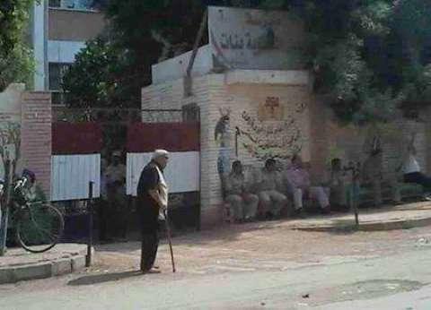إقبال ضعيف على لجان مدارس شارع التحرير بالدقي