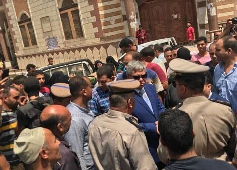 """مساعد وزير الداخلية يتفقد مبادرة """"تحيا مصر"""" بدسوق لتوفير السلع المخفضة"""