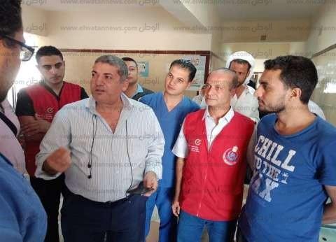 """وكيل """"صحة جنوب سيناء"""" يتابع حملة المسح الشامل للقضاء على """"فيروس سي"""""""
