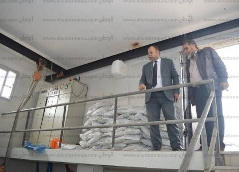 بالصور  رئيس مدينة كفر الشيخ: افتتاح مشروع المياه العكرة قريبا