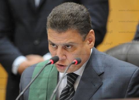 المستشار محمد شيرين يدلي بصوته في الدقائق الأخيرة لانتخابات القضاة