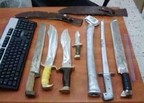 ضبط 5 أسلحة نارية في حملة أمنية بكفر الشيخ