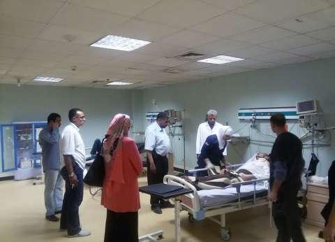 مدير الرعاية في الشرقية يتابع سير العمل بمستشفى الأحرار خلال عيد الفطر