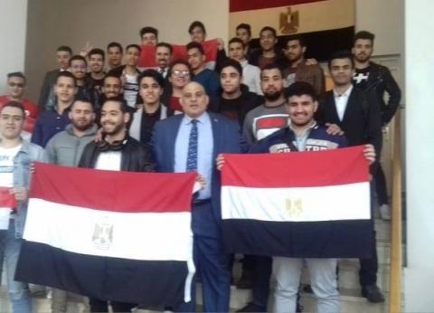 رئيس الجالية المصرية بروسيا: زيادة الإقبال في ثاني أيام الاستفتاء