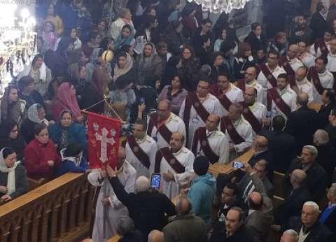 القداس يوحِّد المصريين ضد الإرهاب فى كنيسة مارجرجس بطنطا