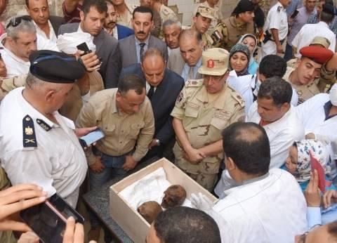 محافظ الإسكندرية: التابوت اكتشاف هام للمدينة يدل على مكانتها التاريخية