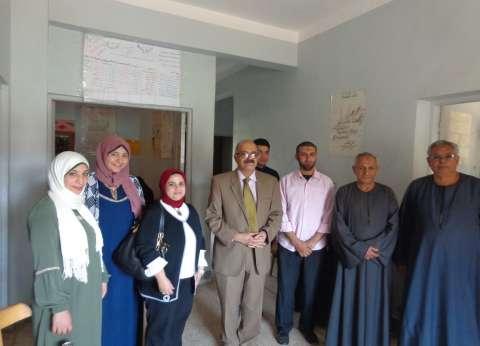 جامعة المنوفية تطلق قافلة طبية لحصر مصابي فيروس سي بقرية سلكا