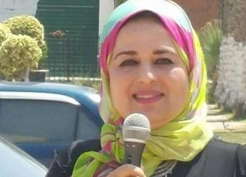 """مذيعة بورسعيد تعتذر عن انفعالها: """"ممكن أبوس رأسهم لأنهم أولادي"""""""