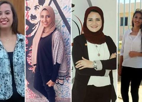 """""""الوطن"""" تحاور 5 رئيسات اتحاد طلاب لأول مرة في كلياتهن بجامعة القاهرة"""