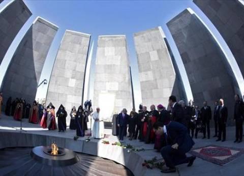 العشرات من متظاهري المعارضة في أرمينيا يقتحمون مبنى الإذاعة