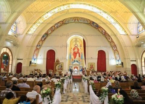 الكاتدرائية تبدأ استقبال المشاركين في قداس عيد القيامة