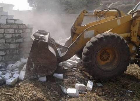 رئيس مدينة سمنود بالغربية يوجه بإزالة 13 حالة تعد على أملاك الدولة