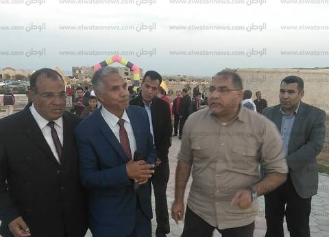 """بالصور  رئيس مدينة مرسى علم يفتتح قرية """"الطبيعة البكر"""""""