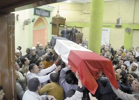 """رئيس الوزراء ووزيرا الدفاع والعدل يتقدمون الجنازة العسكرية لـ""""شهيدي القضاء"""""""
