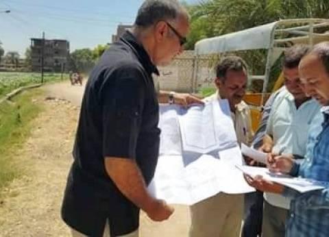 لجنة من الصحة تعاين 3 مواقع لإنشاء محطة صرف معالج بدار السلام بسوهاج