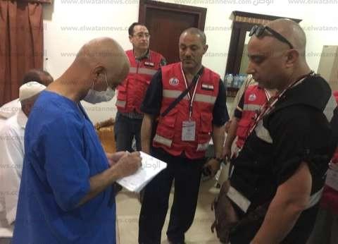 البعثة الطبية: لا أمراض معدية أو وبائية بين الحجاج المصريين حتى اليوم
