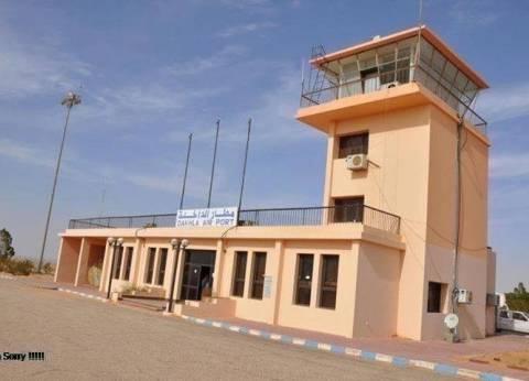محافظ الوادي الجديد: التنسيق مع الدفاع الجوي لتشغيل مطار الداخلة