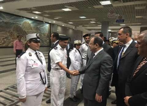 بالصور| وزير الداخلية يتفقد الاستعدادات الأمنية لمنتدى الشباب العالمي