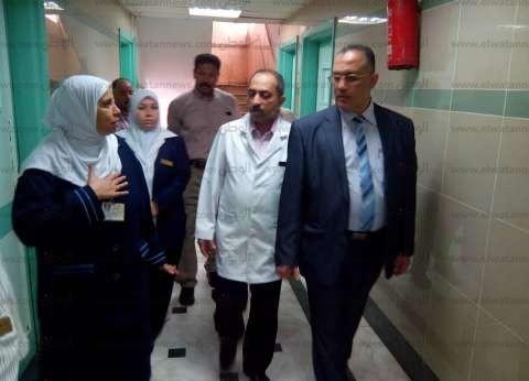 مدير التأمين الصحي بالشرقية يتفقد مستشفى المبرة