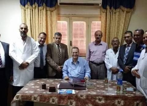 """""""الطب العلاجي"""": تكليف إدارة المشروعات برفع كفاءة مركز القلب في سوهاج"""