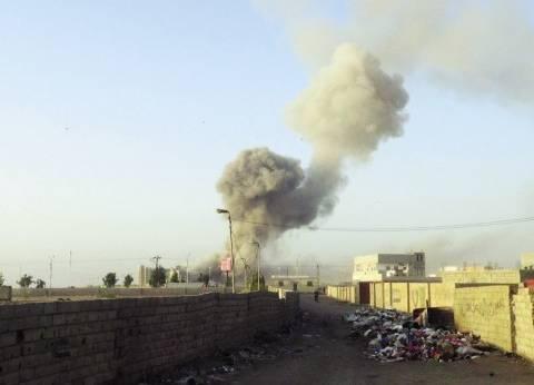 استشهاد ضابط وإصابة 9 مجندين إثر تفجير مدرعة شرطة بالعريش