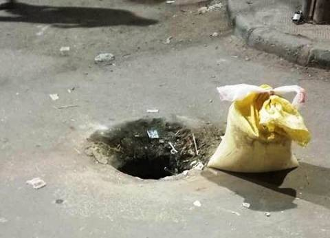 كشف لغز اختفاء بالوعات الصرف الصحي جنوب بني سويف