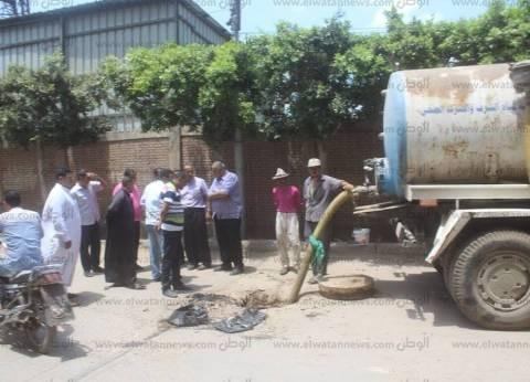رئيس مدينة دسوق : تطهير جميع خطوط الصرف الصحي قبل الشتاء