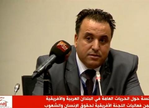 أمين صندوق المنظمة العربية: حقوق الإنسان انتكست على يد الإرهاب في 2014