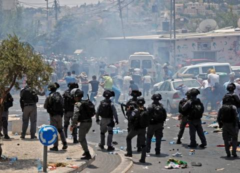 إصابة 55 فلسطينيا في مواجهات مع جيش الاحتلال الإسرائيلي بالضفة الغربية