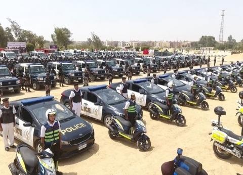 ضبط 35 قطعة وفحص 69 من سائقي السيارات بالطرق السريعة في 24 ساعة