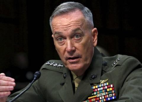 دانفورد: لا نستهدف المدنيين في سوريا.. وسنردع النظام