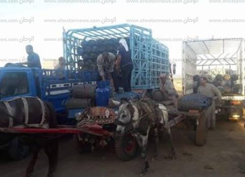 ضبط صاحب مستودع بتهمة بيع 6 آلاف أسطوانة بوتاجاز في السوق السوداء بقنا