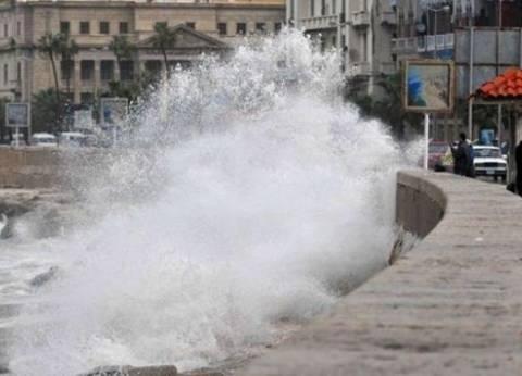 """نوة """"المكنسة"""".. أمطار غزيرة مصحوبة برياح ورعد تضرب الإسكندرية"""