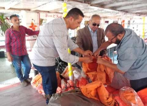 """رئيس """"النقل النهري"""" يتفقد المراسي النيلية للتأكد من إجراءات السلامة"""