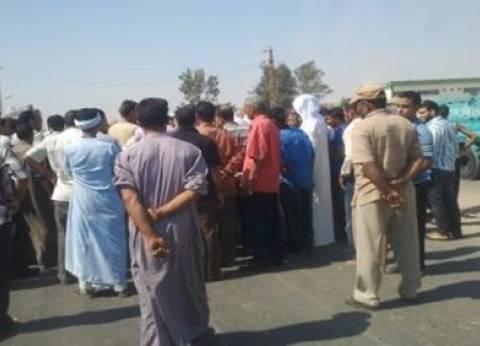 """وقفه لأهالي """"بهجورة"""" اعتراضا على نقل مجمع المواقف من نجع حمادي"""