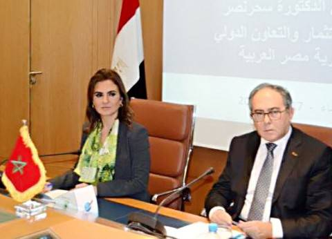 سحر نصر تلتقي رئيس المنطقة الاقتصادية لميناء طنجة المتوسط لبحث التعاون
