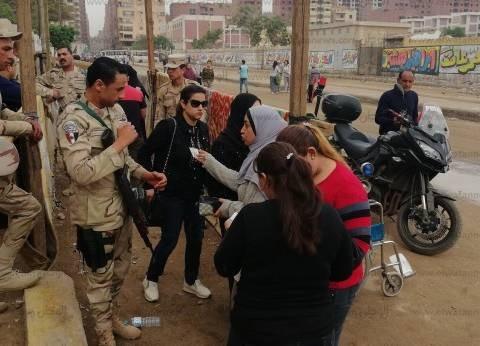 """تزايد أعداد الناخبين بلجان """"عائشة أم المؤمنين"""" بشبرا الخيمة"""