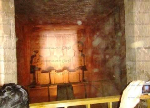 محافظ أسوان: تعامد الشمس على تمثال رمسيس هذا العام اختلف عن سابقيه